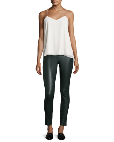 Theory Adbelle L2 Bristol Leather Leggings