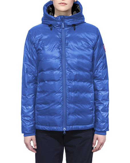 Canada Goose Camp Hooded Packable Puffer Jacket, Royal