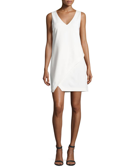 Diane von Furstenberg Jenn Sleeveless Shift Dress, Ivory