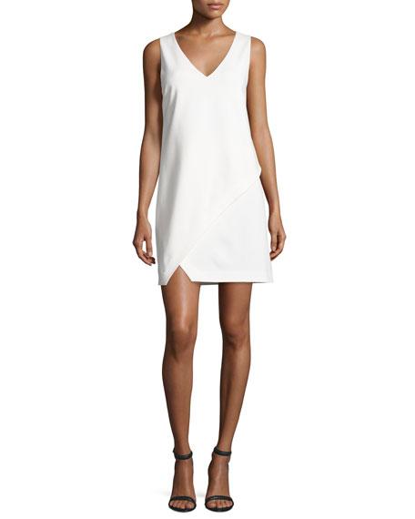 Diane von Furstenberg Jenn Sleeveless Shift Dress, Ivory