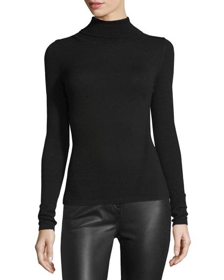 Jelena Turtleneck Sweater, Black
