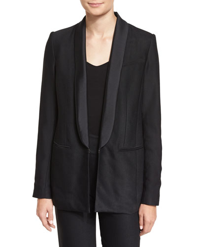 Glastonbury Tuxedo Jacket, Black