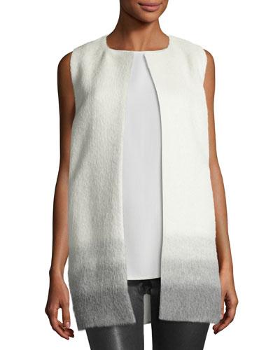 Ombre Alpaca/Wool Vest