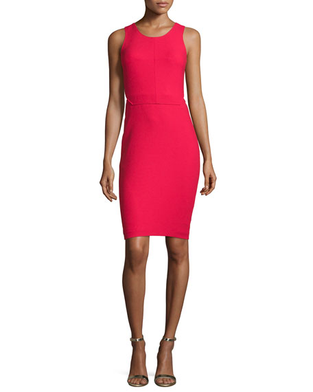 Elizabeth and James Emmy Sleeveless Cutout Sheath Dress,