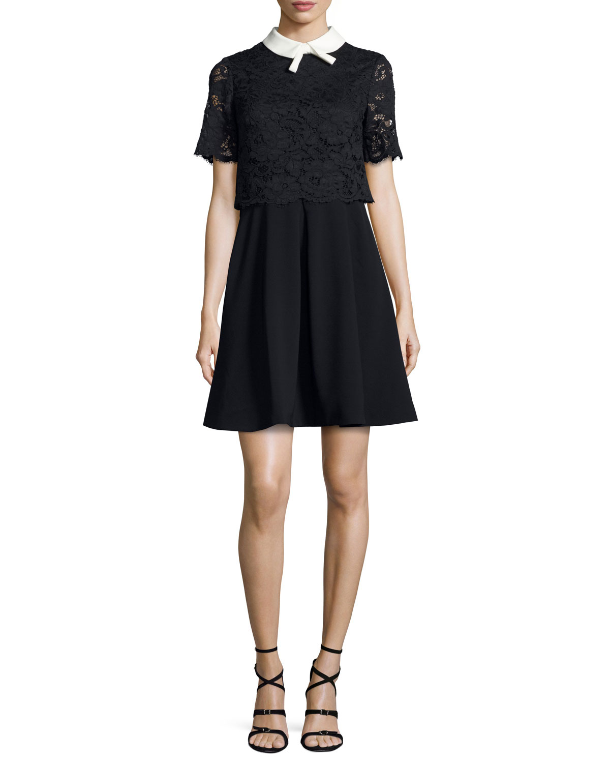 c5855d689ac3e9 Ted Baker London Dixxy Lace-Popover Dress