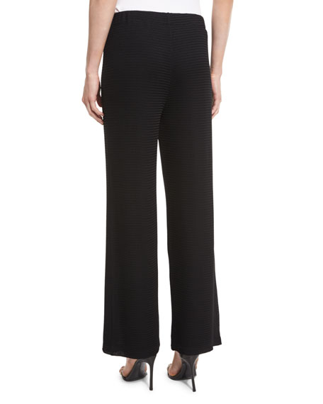 Rochelle Wide-Leg Pants, Black, Plus Size