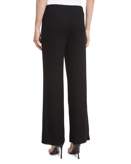 Rochelle Wide-Leg Pants, Black, Plus Size