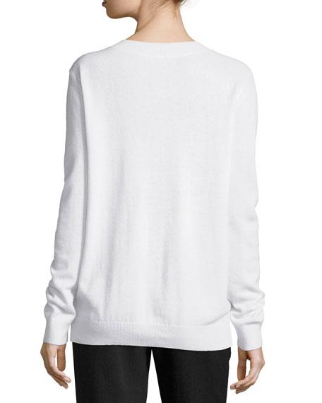 Vee Lightweight Cashmere Sweater