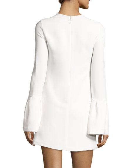 Josephine Bell-Sleeve Shift Dress