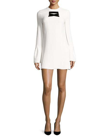 Alexis Josephine Bell-Sleeve Shift Dress
