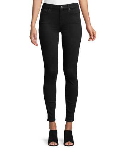 The Ankle Skinny Jeans  B[Air] Black
