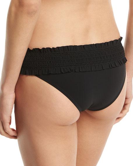 Smocked Hipster Swim Bikini Bottom