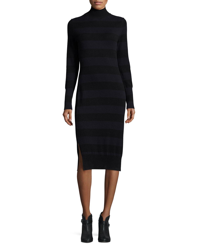 99b0549cc0c rag   bone JEAN Careen Striped Mock-Neck Sweater Dress