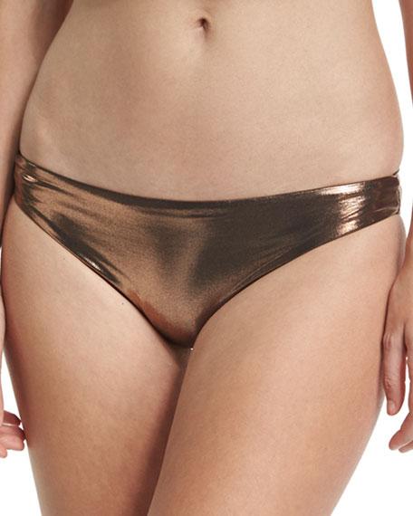 Luxe by Lisa Vogel Premier Metallic Hipster Swim