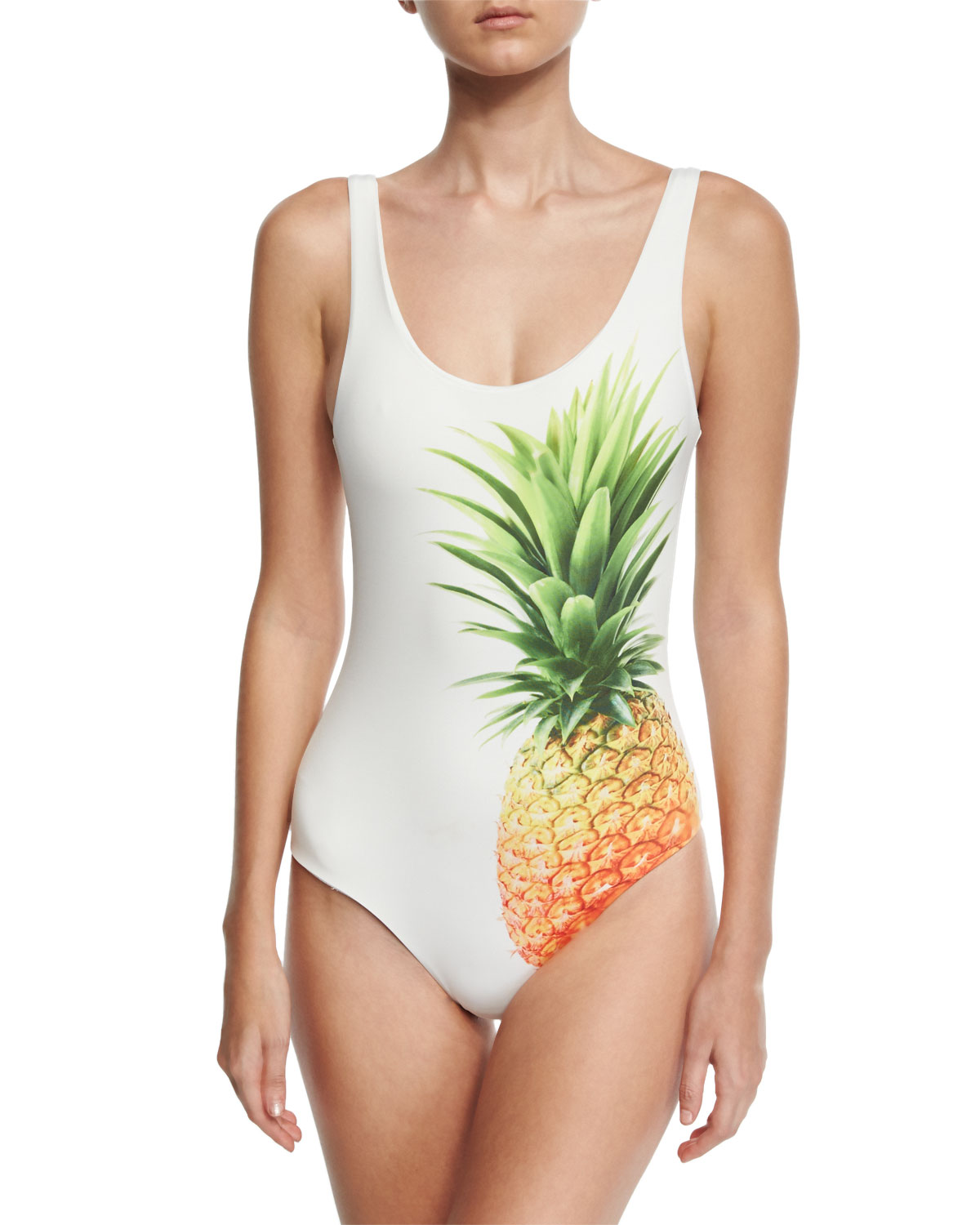 e018a96826 Onia Kelly Pineapple-Print One-Piece Swimsuit