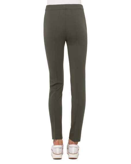 Mara Seamed Skinny Jersey Pants