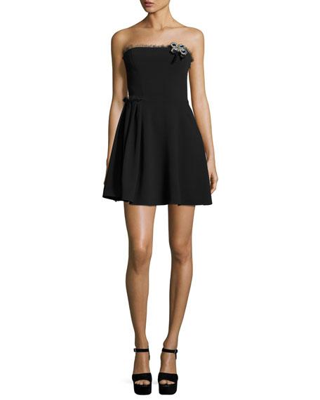 Strapless Bow Dress - Neiman Marcus
