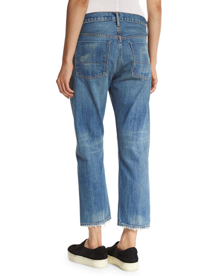 Heritage Union Slouch Jeans, Blue