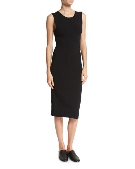 Midi Tank Dress, Black