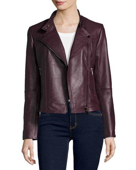 Neiman Marcus Quilted Leather Moto Jacket   Neiman Marcus : quilted leather moto jacket - Adamdwight.com