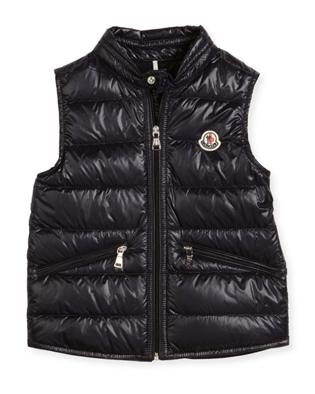 Gui Down Puffer Vest, Size 4-6