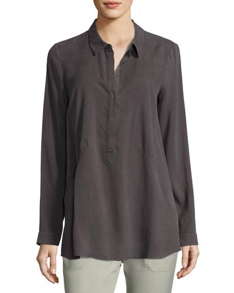Go Whatever Silk Shirt