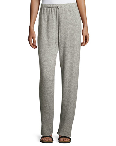 Superfine Cashmere/Silk Drawstring Sweatpants