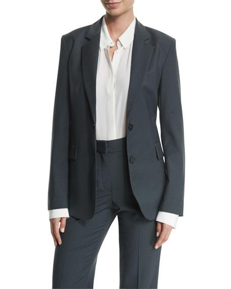 Aaren Continuous Wool-Blend Jacket