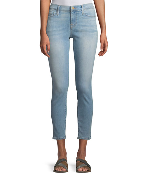 Le Skinny Cropped Low-Rise Jeans, Southall