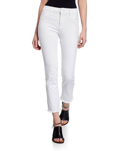 Mara Instasculpt Ankle Straight Jeans  Oakley