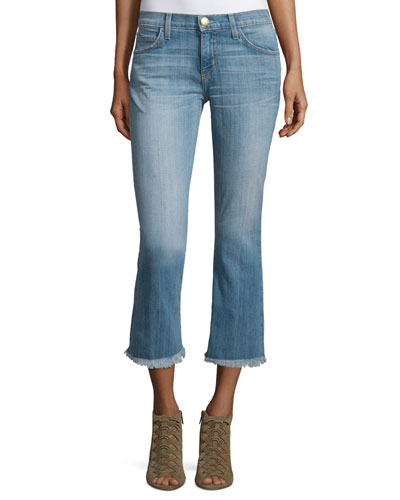 The Cropped Flip Flop Distressed Jeans