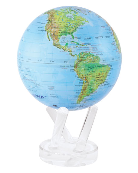 """MOVA 6"""" Globe with Relief View"""