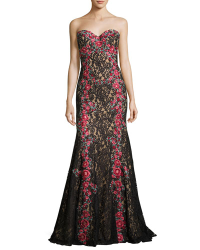 Neiman marcus black maxi dress