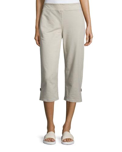 Zen Capri Pants, Stone, Plus Size