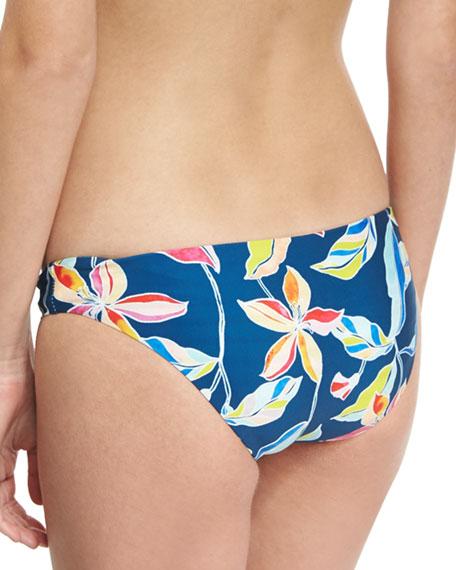 Tropical Traveler Reversible Swim Bottom, Blue