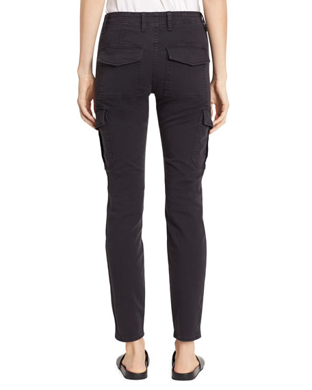 Image 2 of 3: Vince Skinny Cargo Cotton Pants