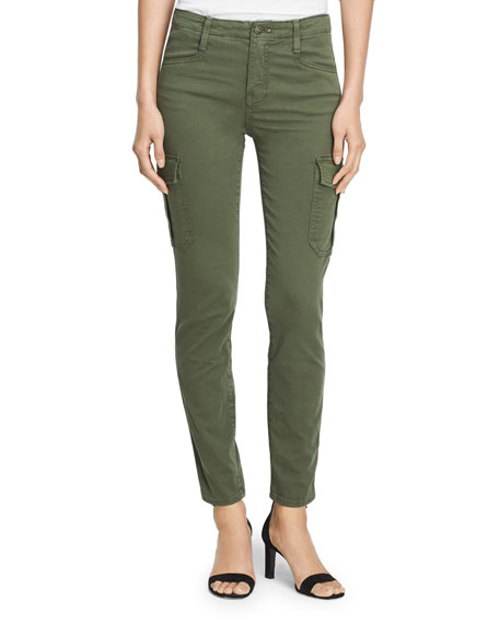 Image 3 of 3: Vince Skinny Cargo Cotton Pants