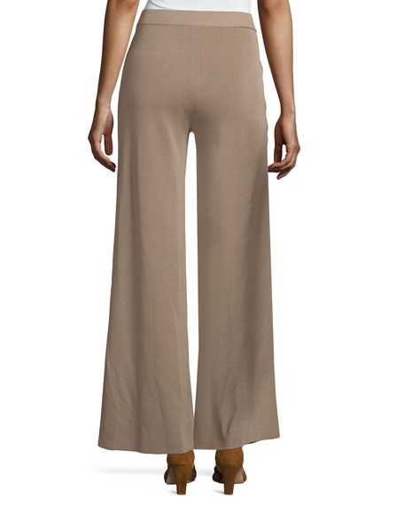 Demi Palazzo Pants, Light Brown