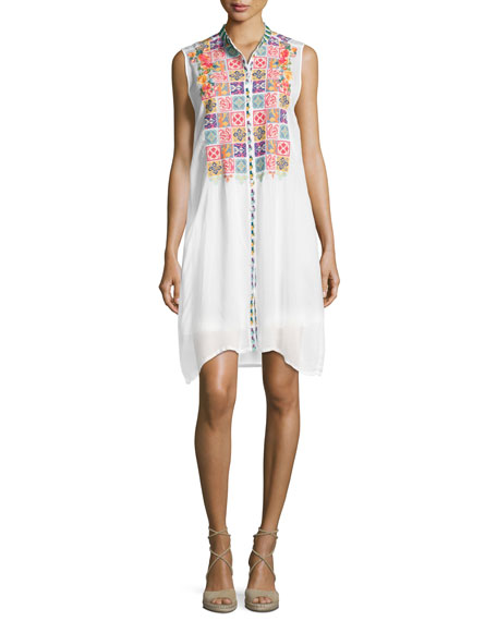 Torreya Sleeveless Georgette Dress