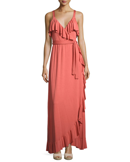 Ruffle Drama Maxi Dress