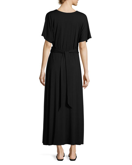 Asta Belted Maxi Dress