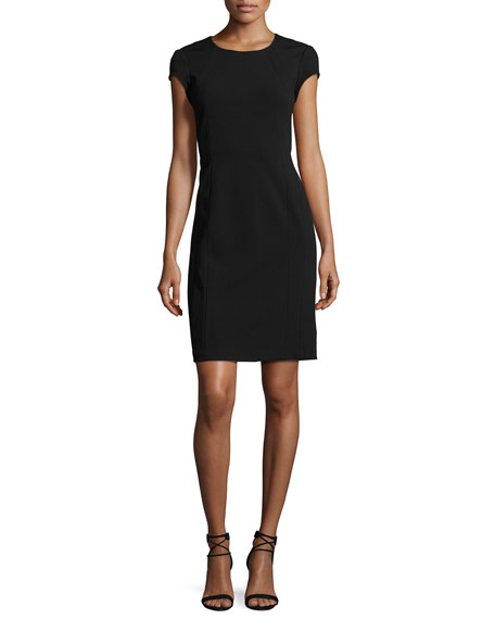 Lafayette 148 New York Dixon Short-Sleeve Dress