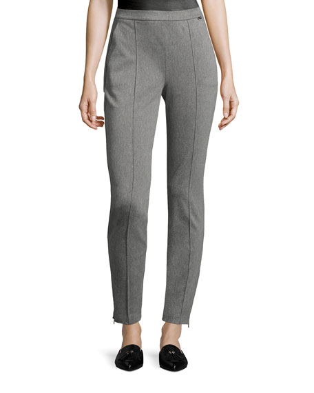 St. John Collection Denim Ponte Leggings and Matching
