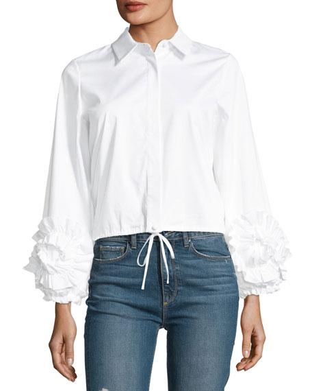 Alexis Cloe Poplin Button-Front Shirt