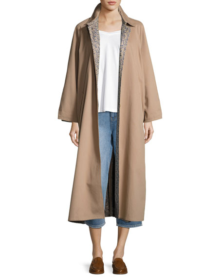 Robert Rodriguez Reversible Trench Coat, Camel