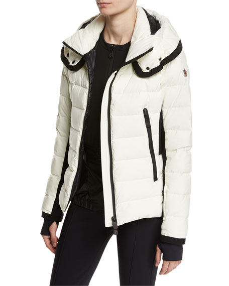 Lamoura Quilted Puffer Jacket, Cream