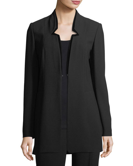 Elie Tahari Maclaine Velvet-Tipped Blazer and Matching Items