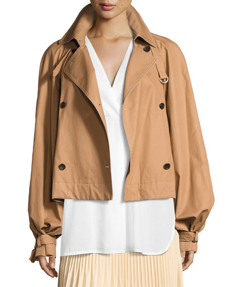 Eleta Double-Breasted Trench Jacket