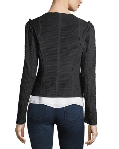 Corrine Embroidered Open Jacket