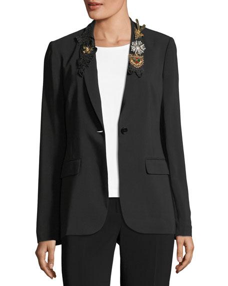 Kobi Halperin x Erte Anabella Embellished Blazer Jacket